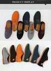 New Men's Leather Shoes Lace Up Business Oxfords Casual Moccasins Formal Wedding