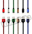 10FT 3M Popular Nylon Braided USB Charger Data Sync Cable For iphone 6S 6 5S 5