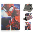 "Kids Cartoon Hero Cover Case For 7"" Inch Tablet Stand PU Leather Flip Universal"