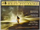 LETTERS FROM IWO JIMA (2007) Quad Movie Poster - Clint Eastwood, Ken Watanabe