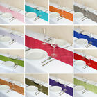 """12"""" x 108"""" Pintuck Table Runners Wedding Party Dinner Catering Decorations SALE"""