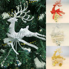 1pc Christmas Tree Ornament Deer Chital Hanging Xmas Baubles Party Home Decor