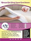 Waterproof Washable Quiet Zip Duvet Quilt Protector Anti Allergy Dust mite