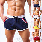 Fashion Men Sport Bodybuilding Shorts Fitness Running GYM Casual Short Pants hot