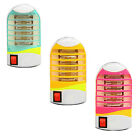 Home LED Electric Mosquito Fly Bug Insect Trap Night Lamp Killer Zapper EU Plug