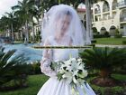 Sub=$20! Nwt Re Quo Sexy* Grand* Lace White Wedding Gown Dress Size 8 12,14 58e