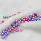 Wholesale 200 Pcs Bulk Lots Plastic Faux Pearl Loose Bead 7mm 9mm Assorted Color