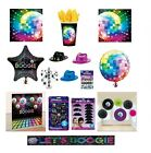 I LOVE THE 70s Disco Fever Themed PARTY Range Glitter Ball Decorations Balloons