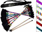 Flames N Games Art-Deco Flower Stick- Pro Flowerstick Set + Wooden Sticks + Bag