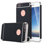 New Slim 3IN1 Thin Plating Shockproof Armor Case Cover for apple iphone 7 & plus