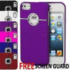 New Chrome Ring Series hard case cover bumper for Apple iPhone 5 5s SE