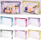 Clear Travel Toiletry Beauty Makeup Holder Cosmetic Storage Organizer Bag EN24H