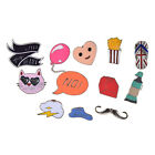 Slipper Cat Enamel Brooch Pins Set Women Jewelry Accessories Shirt Collar Pin