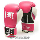 GUANTONI LEONE FLASH TG. M 10 OZ. FUXIA GLOVES MUAY THAI BOXE KICK BOXING