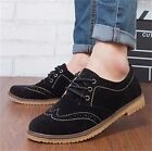 Mens Classic Retro Lace Up Desert Suede Leather Ankle Flat Boots Casual Shoes 10