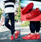 """2016 New Men""""s Breathable fashion  casual sports shoes running red shoes"""