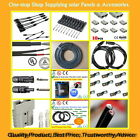 TUV Approved Solar Cable /MC4 Y Connectors/Anderson/Lug Accesories Kit for Solar