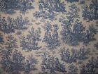 "Schumacher/Waverly ""Country Life Toile"" fabric by the yard multiple cl available"