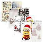 For Xiaomi M5 Mi5 New Year Christmas Hard Plastic Cover Case Reindeer Bowknot