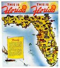 This Is Florida Booklet For Prospective New Residents 1950's
