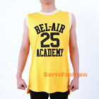 Carlton Alfonso Banks #25 Basketball Jersey TV Show Fresh Prince Bel Air Stiched