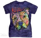 New The Mountain Pitbull Luv Womens T Shirt