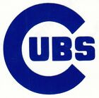 REFLECTIVE  Chicago Cubs decal sticker various sizes up to 12 inches on Ebay