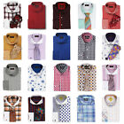 Steven Land French Cuff Dress Shirt High Spread Collar Assorted Styles & Sizes
