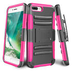 Heavy Duty Rugged Holster Resilient Armor Case  Cover Shell For  iPhone 7 Plus