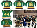 The Mighty Ducks 1992 Movie Hockey Jersey Stitched Goldberg Conway Reed Bombay