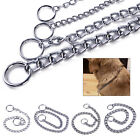 Stainless Steel Metal Pet Dog Snake Twist Chain Training Choker Collar Pet Puppy
