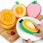 New Cute Fruit Sponge Scouring Dish Washing Cleaning Cloth Gadget Kitchen Tools