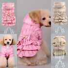 Pet Puppy Winter Warm velvet Hoodie Dog Coat Jacket Hooded Clothes Apparel