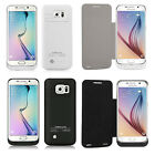 For Samsung S6 4200mAh External Backup Battery Power Bank Charger Case