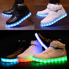 Top LED USB Light Up Unisex Shoes Trainers Sneakers Flat Luminous Sneaker Xmas