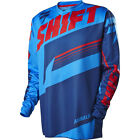 NEW 2016 SHIFT RACING ASSAULT MX DIRT BIKE JERSEY BLUE/RED SIZE SMALL SM S
