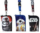 Star Wars The Force Awakens Lanyards with Detachable Pouch Badge phone holder $6.5 USD on eBay