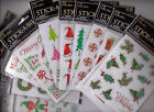 The Paper Studio Stickabilities CHRISTMAS Themed Stickers~Adorable! Quick Ship