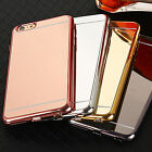 10x LOT iPhone 6/6s  6Plus/6s Plus TPU Electroplate Mirror Phone Cases