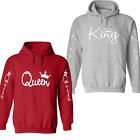Valentine's day couple-matching-King-and-Queen-Cupid-hoodie