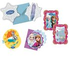 6 x PARTY INVITATIONS Licensed Disney FROZEN Ranges (Birthday/Kids/Princess)
