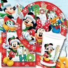 Mickey Mouse CHRISTMAS PARTY PARTY Range (Tableware & Decorations) 2016 Unique