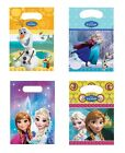 6 x PARTY BAGS Licensed Disney FROZEN Ranges (Loot/Birthday/Favours)