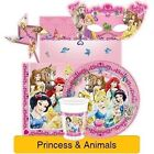 PRINCESS & ANIMALS Birthday Party Range (Tableware & Decorations) 2016 Unique