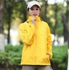 Unisex Men's Women Motorcycle Waterproof Wind Rain Coat Jacket Fishing Raincoat
