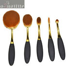 S-noilite Toothbrush Eyebrow Foundation Eye Oval Cream Puff Makeup Brushes Set