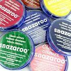 Professional 18ml Classic SNAZAROO Face & Body Paint Make Up Colours Fancy Dress