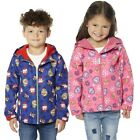 Paw Patrol Kids Hooded Zipped Shell Jacket Coat Fleece Lined Childrens Sizes