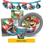 Super MARIO KART - Birthday PARTY RANGE - Tableware, Balloons & Decorations