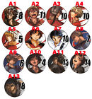 All Out!!  Anime Button Badge